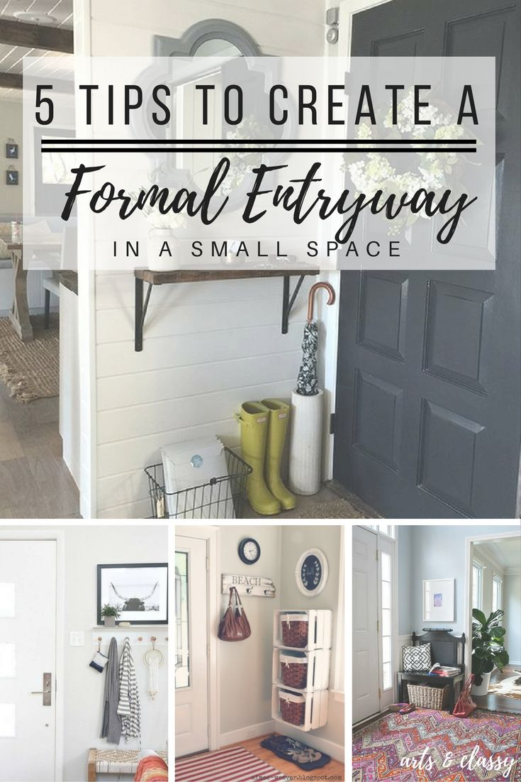 5 Tips To Create A Foyer Or Entryway In Small Apartment