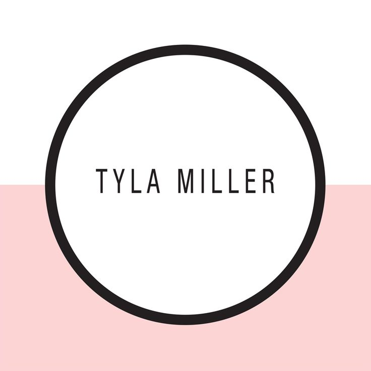 Tyla Miller hair and makeup, Northcote (artwork supplied low res, upgraded in vector Illustrator for window decal and brand)