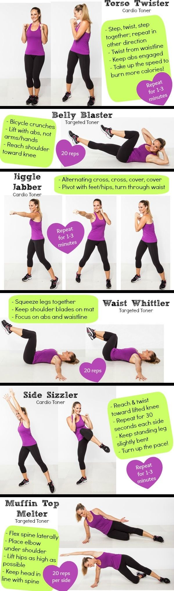 how to tone love handles