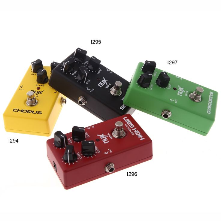 NUX AS-4 Amplifier Simulator Guitar Electric Effect Pedal True - Tomtop.com