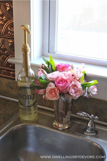 Easy DIY Soap Dispenser