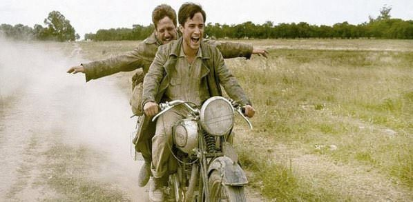 The Motorcycle Diaries (2004) – Two friends travel from Brazil to Peru by motorcycle.