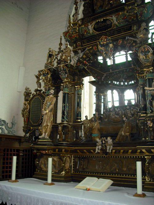 Altarschnitzerei der  Kirche St. Matthäus in Rodenkirchen