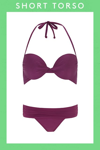 The Best Swimsuits For YOUR Shape  #refinery29  http://www.refinery29.com/affordable-swimsuits-by-body-type#slide-48  Fold-over bikini bottoms that work with your shape.