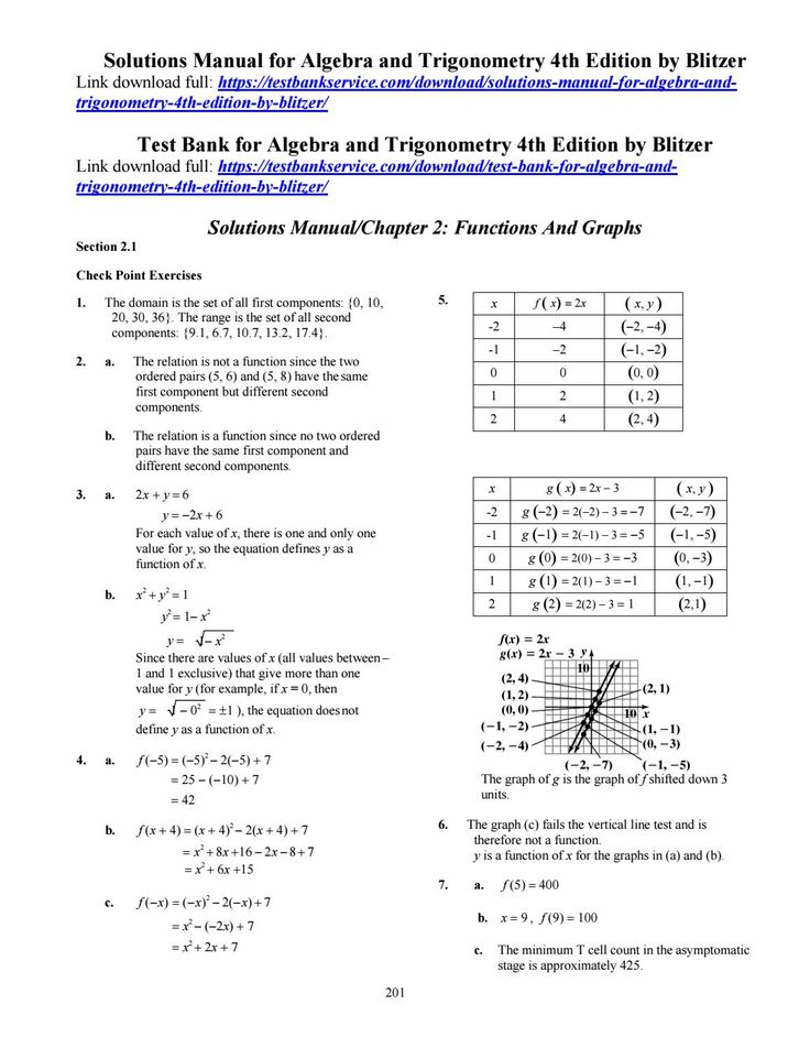 28 best solutionsmanual images on pinterest solutions manual for algebra and trigonometry 4th edition by blitzer fandeluxe Gallery