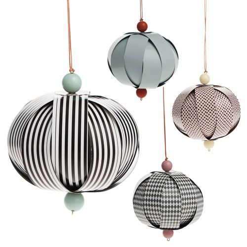 DESIGNDELICATESSEN - Ferm Living - Honeycombs - christmas deco.