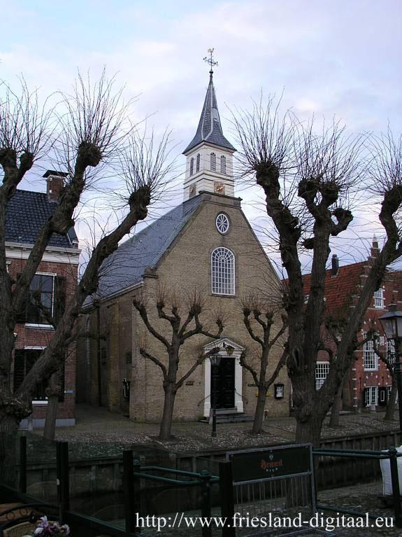 De hervormde kerk van Sloten uit 1647