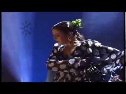Sara Baras baila por Soleá en La Noche Flamenca (1996)