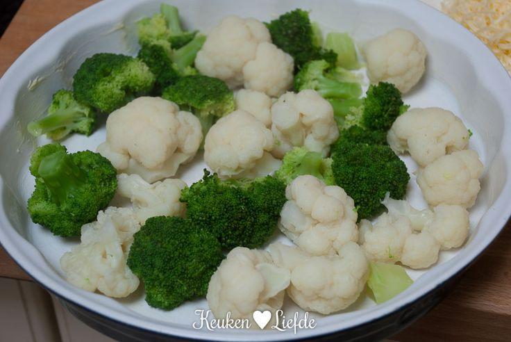 Broccoli en bloemkool met kaassaus (3 van 14)