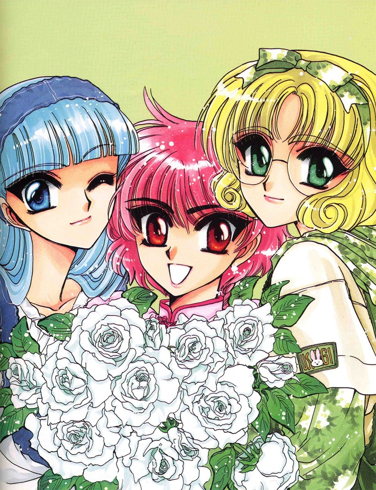 CLAMP - Magic Knight Rayearth 【Marine, Lucy & Anne // Umi, Hikaru & Fuu】