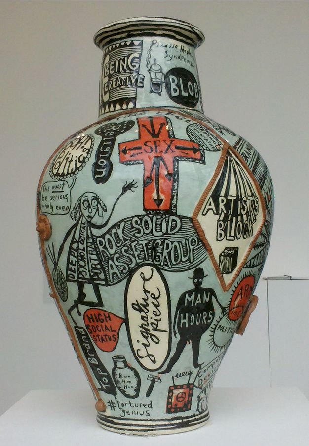 ''The Grayson Perry'' ''I think the artists who will go down in history are the ones who in some way respond to the moment they're in''