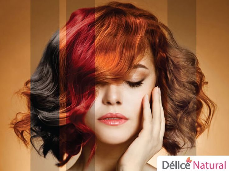 Hair dye AT home with home ingredients Delice Natural