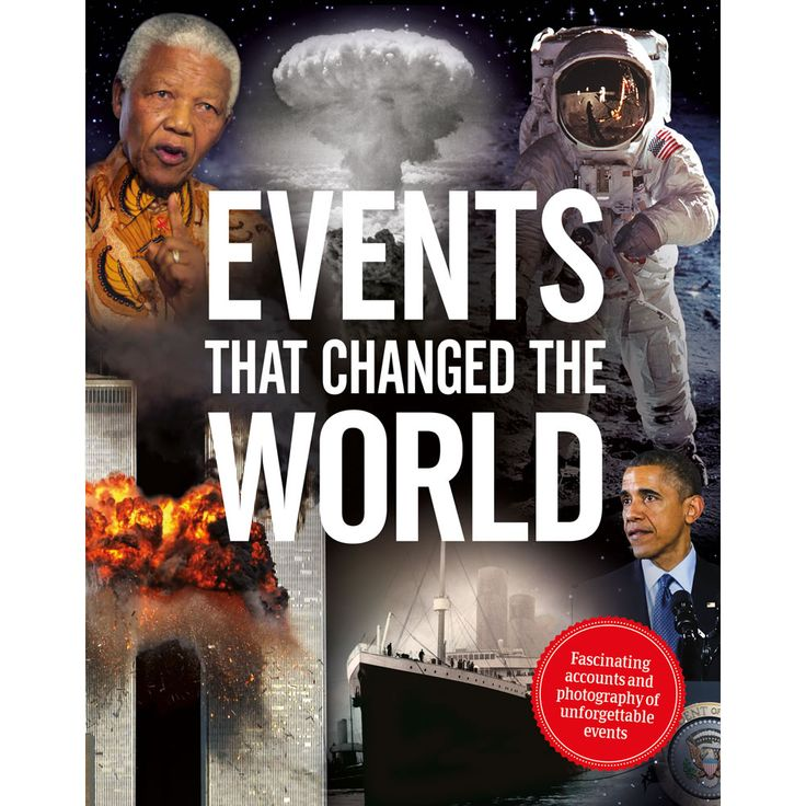 Events That Changed The World Book                Discovery