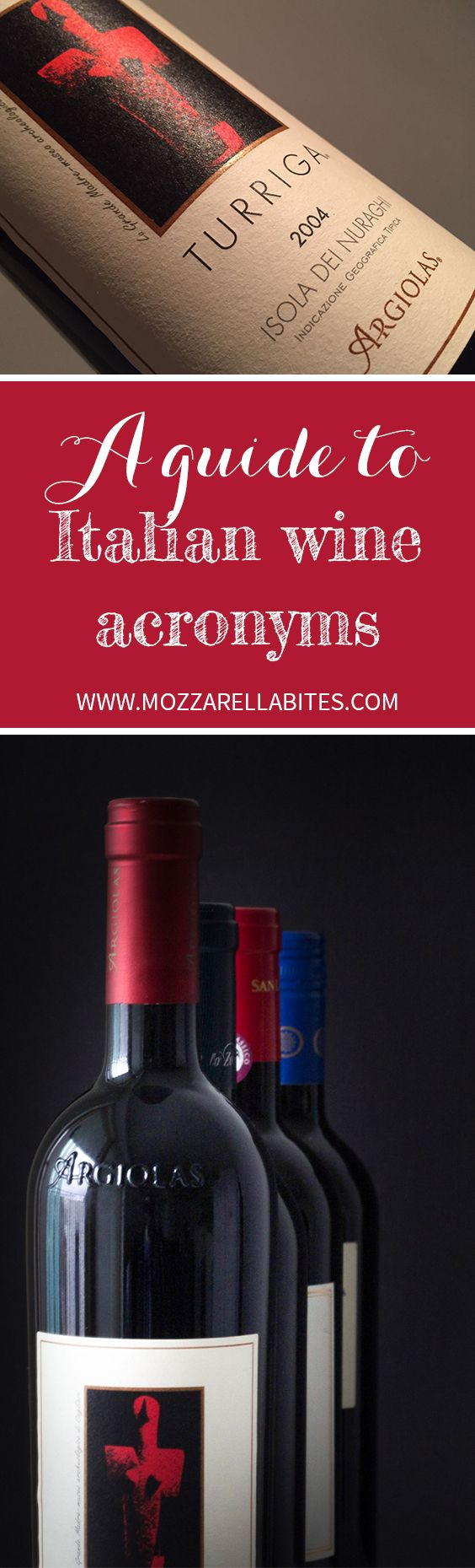 Find out how to read wine labels! Read our guide to the Italian wine acronyms!