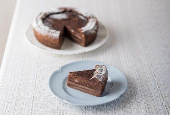 ココアのマジックケーキ