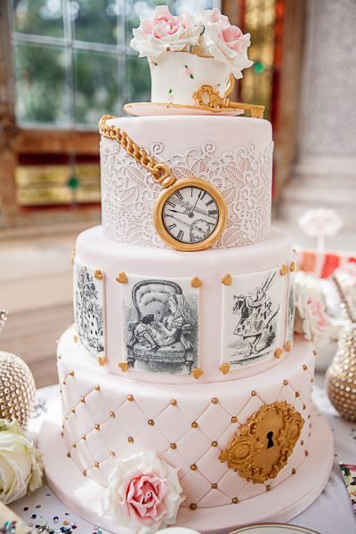 L'imaginaire d'Alice au pays des merveilles recréé à la perfection pour un mariage pas comme les autres ! Image: 8