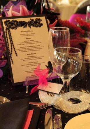masquerade wedding themes ideas 6
