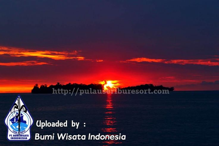 Sunset at Pulau Seribu, Indonesia, Jakarta | Thousand Islands Sunset #sunset #pulauseribu