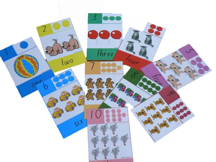 A4 Number wall charts are bright and motivating.  Charts include numeral, written word, dot formation and object counting