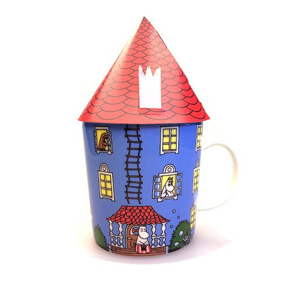 In 1945 Tove Jansson wrote her first book about the Moomin family, The Moomins and the Great Flood, and in 2015 we celebrate the 70th anniversary of the Moomins.The Moomin 70 years anniversary mug will become a permanent addition to the collection of more than 70 Moomin mugs with much loved Moomin characters released so far. The mug holds 0,3 l and every package contains a red paper roof for you to create your own Moominhouse out of.