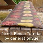 I Am So Excited To Share With You My Picnic Bench Covers Too Many Complaints From Kids After Husband Made Us A Backyard