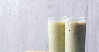Απόλαυση και υγεία σε... ένα ποτήρι :Σμούθι με μπανάνα και ακτινίδιο! - Γλυκά χαμόγελα