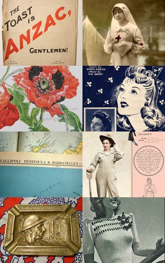 ANZAC Day ~ Women at War --Pinned with TreasuryPin.com