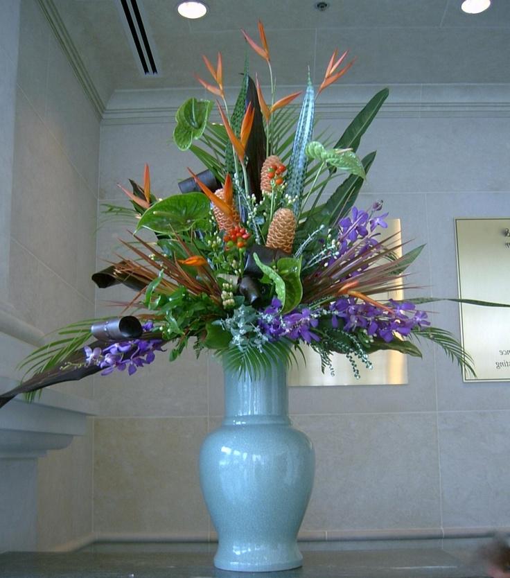Stunning lobby reception design