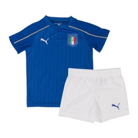 Camisetas del Italia para Niños Home 2016