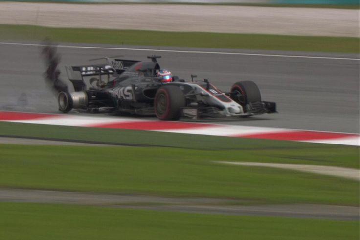 ハースF1、グロージャンの事故を誘発したサーキットの状態に怒り  [F1 / Formula 1]