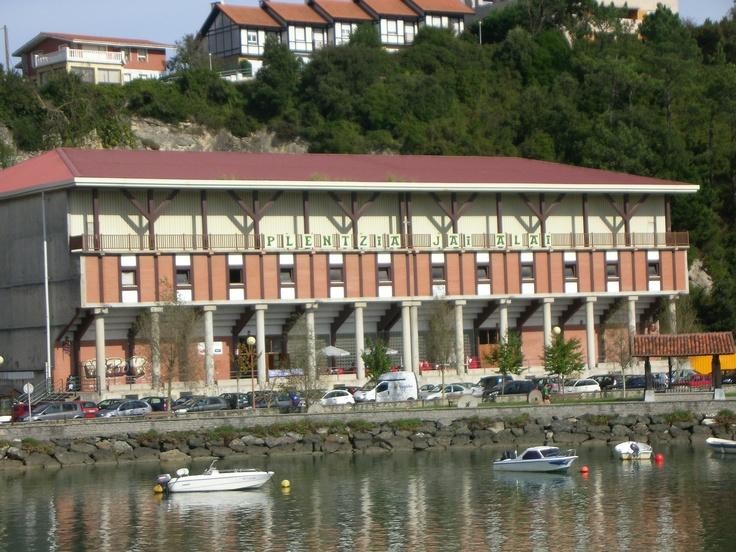 Fronton  Plencia   Vizcaya  Basque Country