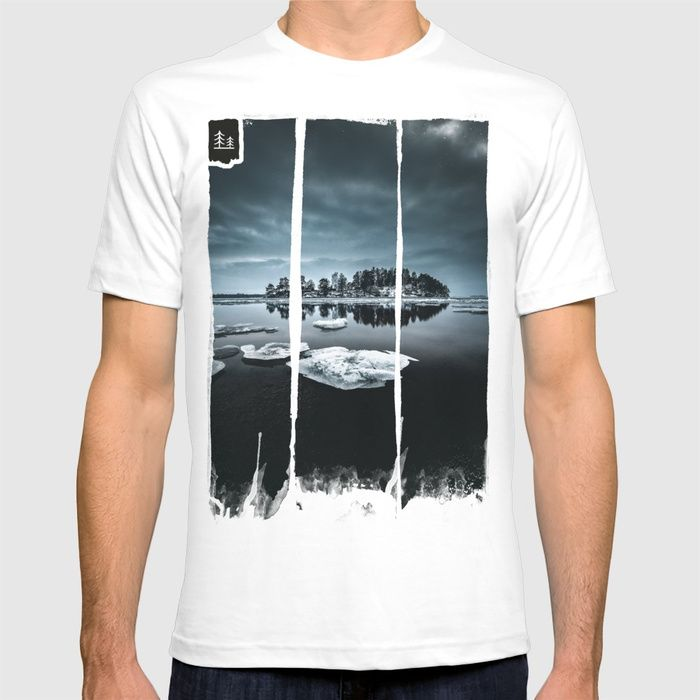 Only pieces left T-shirt by HappyMelvin. #naturephotography #winter #ice #fineart #photography #tshirt #fashion