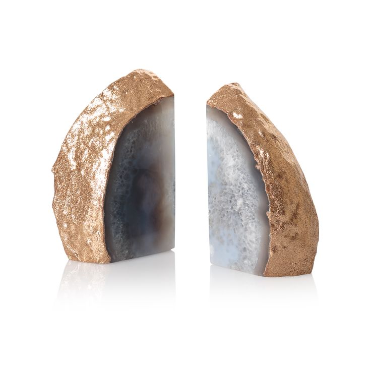 Buy the Agate Stone Book Ends at Oliver Bonas. Enjoy free UK standard delivery for orders over £50.