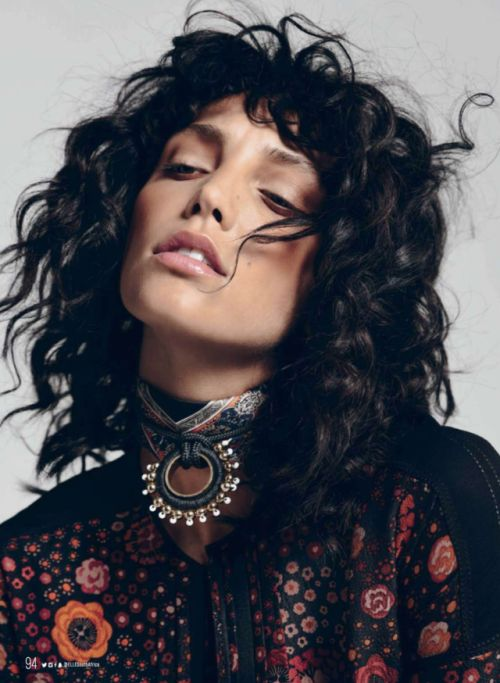 Charissa by Niquita Bento   ELLE South Africa December 2016. Styling: Tarryn Oppel   MU: Kelly Paitaki   Hair: Mary De Gouveia