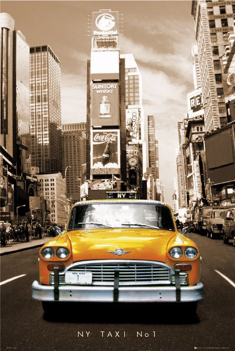 15 best visual research for drama images on pinterest drama new york taxi no1 sepia poster fandeluxe Image collections