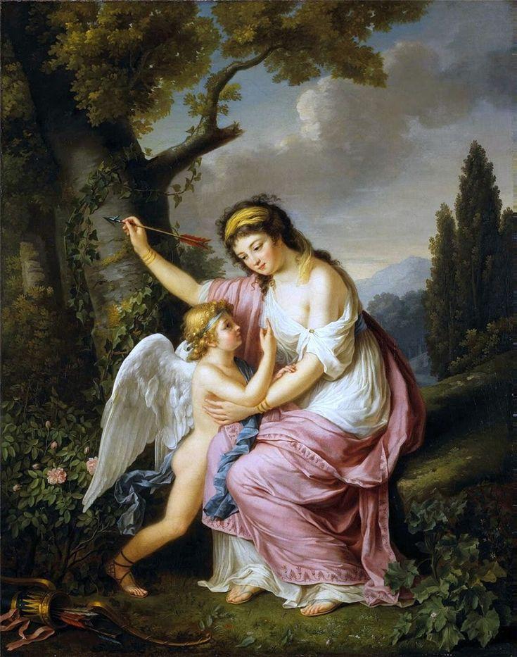 Французская художница Marie-Victoire Lemoine (1754-1820). Обсуждение на LiveInternet - Российский Сервис Онлайн-Дневников