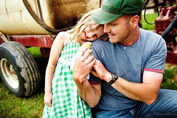 Winners Announced in National Farm Photo Contest Category 4 - Farm Faces Photo by Krystle VanRoboys