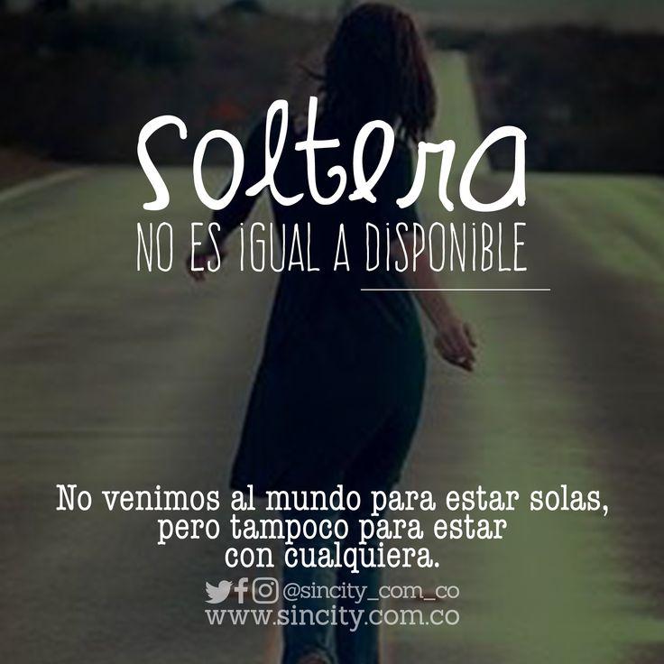 Soltera es tu mejor momento #strong women