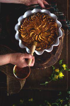 Yerbabuena en la cocina: Tarta de manzana