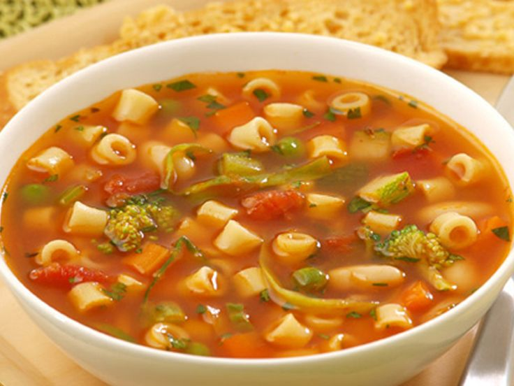 Vegetable Soup with Ditalini