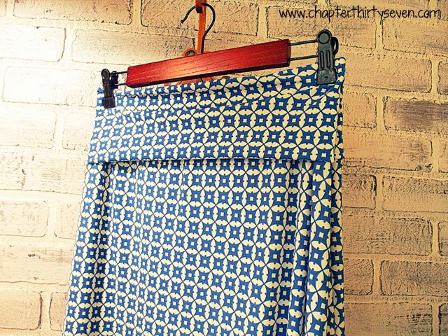 From Chapter37- How to Sew an Easy Yoga Style Waistband. Expect to see me wearing almost exclusively skirts like this this summer :D