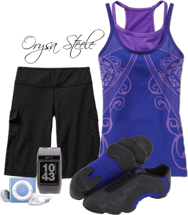 """""""Fitness Fashionista"""" by orysa on Polyvore"""