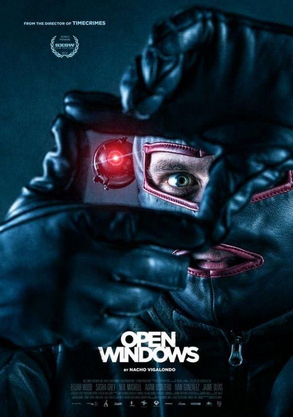 Inquietante nuevo póster para 'Open Windows'