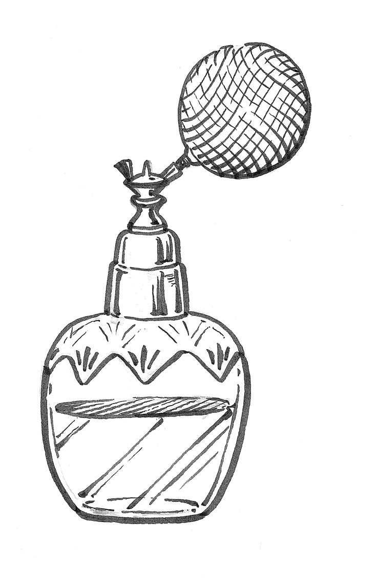 Perfume bottle illustration.  #chamber of crafters #grooming #barbershop #barber #menscare #skin care #beauty #keep prime #crafter #inspiration #new products #japanese #made in Japan #vintage #retro #pin up #men fashion http://chamberofcrafters.com/