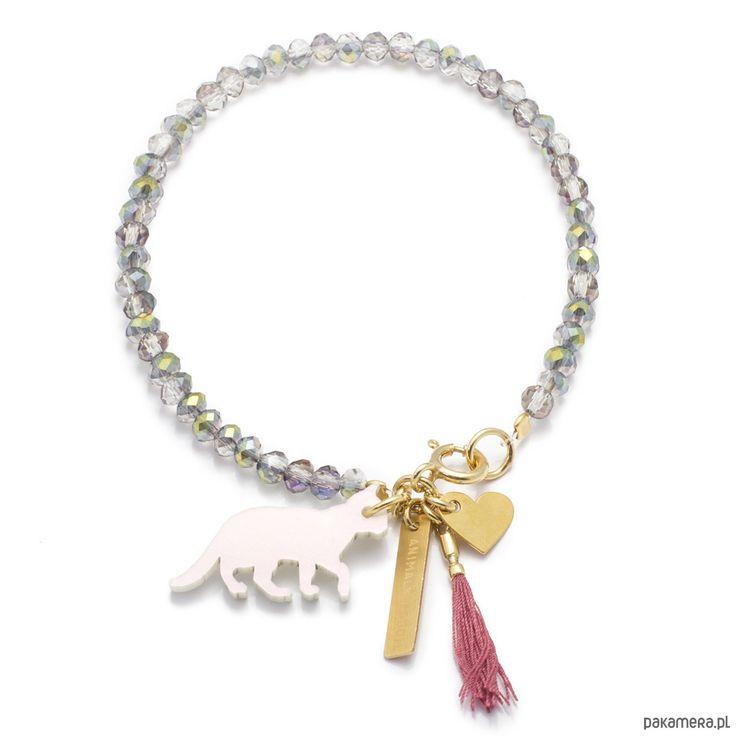 bransoletki - inne-Bransoletka złocona Colour ♡ MIŁOŚĆ ♡ n°1