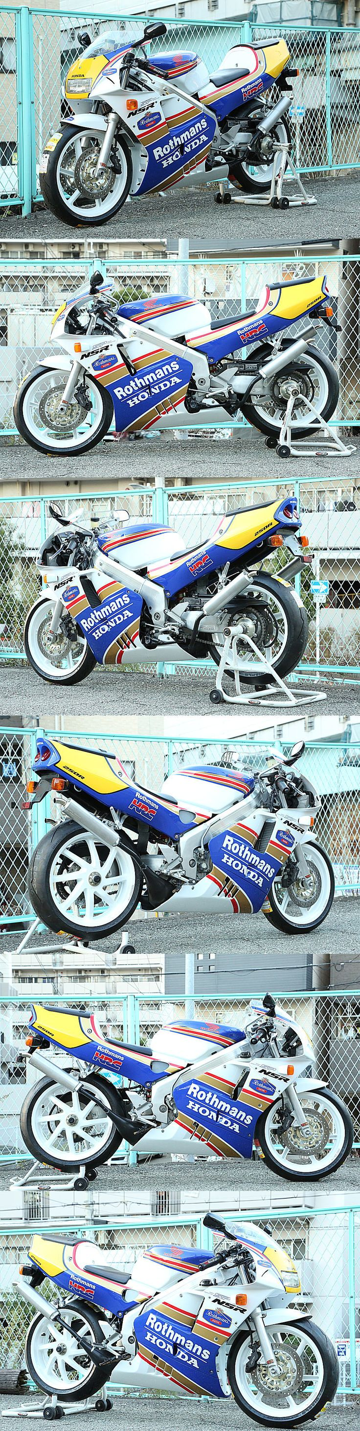 ☆NSR250R-SP本物ロスマンズ!フルOH済み!T2Racing製作!MC28 - T2Racing!スペシャルパーツ - ヤフオク!