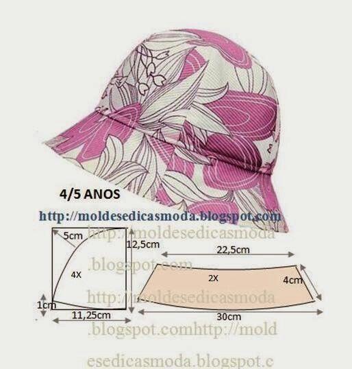 schema cappello bimba/o 4/5anni