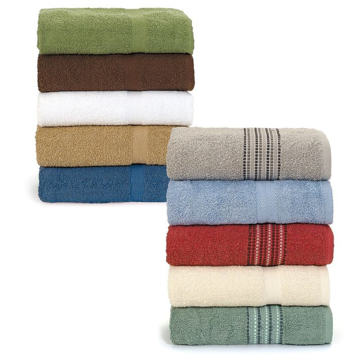 Soft Touch Bath Towels