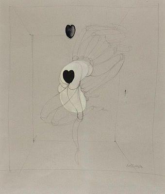 """Hans Bellmer """"Poupee au Coeur Noir"""""""