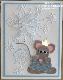 alex 39 s creative corner mouse king punch art gl ckwunschkarte kreatives gestalten und kreativ